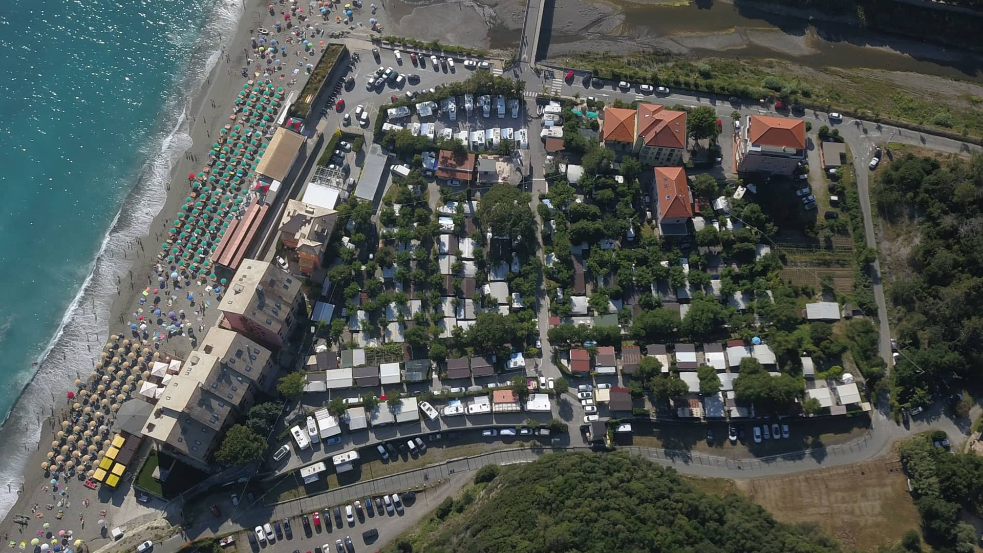 Camping Fornaci al mare a Deiva Marina in Liguria - camping Deiva Marina